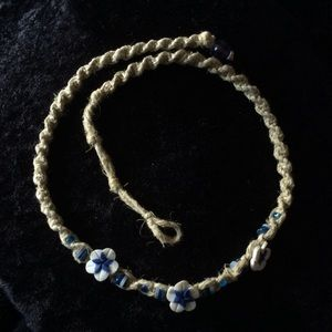 Jewelry - 🌸 🐚 Beach Flower Choker Necklace 🐚🌸